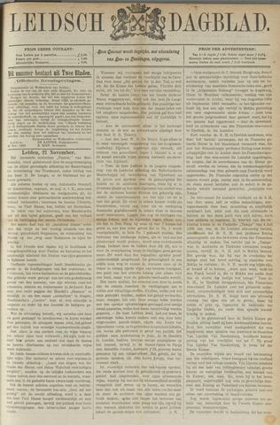 Leidsch Dagblad 1885-11-28