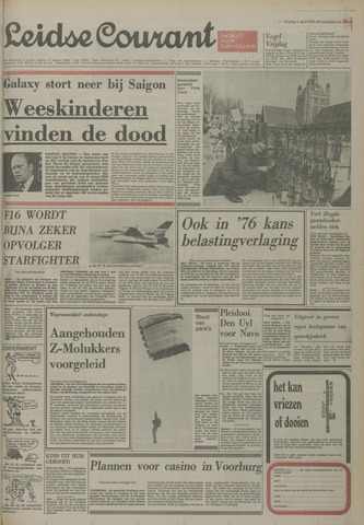 Leidse Courant 1975-04-04