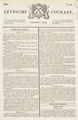 Leydse Courant 1853-06-01