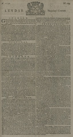 Leydse Courant 1739-08-31