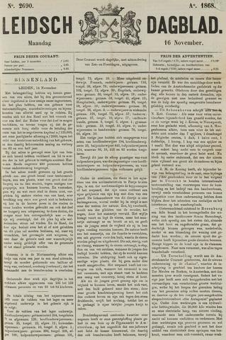 Leidsch Dagblad 1868-11-16