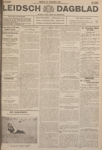 Leidsch Dagblad 1930-08-22
