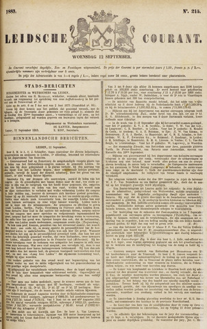 Leydse Courant 1883-09-12
