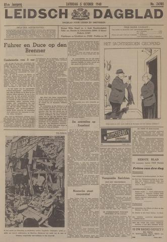 Leidsch Dagblad 1940-10-05