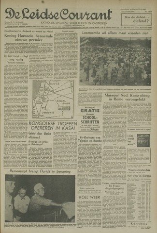 Leidse Courant 1960-08-30