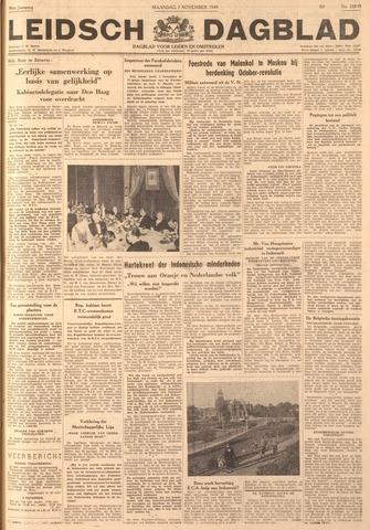Leidsch Dagblad 1949-11-07