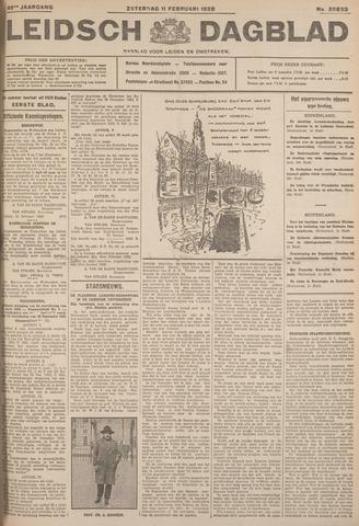 Leidsch Dagblad 1928-02-11