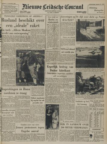 Nieuwe Leidsche Courant 1957-08-27