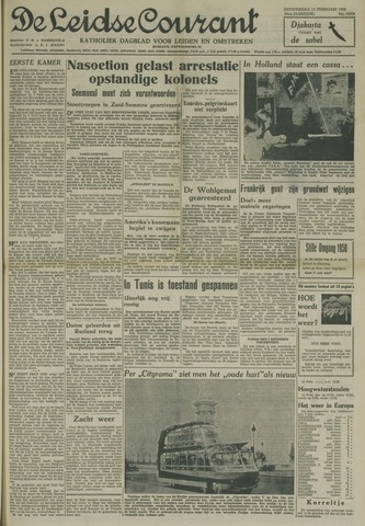 Leidse Courant 1958-02-13
