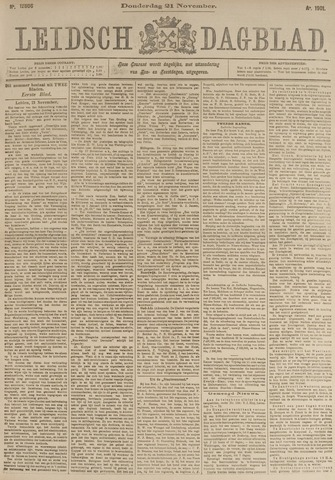 Leidsch Dagblad 1901-11-21