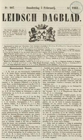 Leidsch Dagblad 1863-02-05