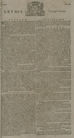 Leydse Courant 1727-11-21