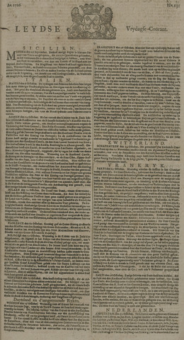 Leydse Courant 1726-11-01