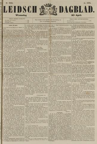 Leidsch Dagblad 1870-04-20