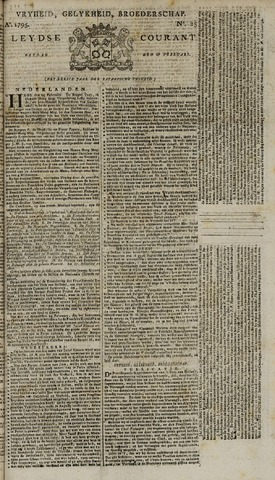 Leydse Courant 1795-02-27