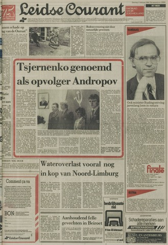Leidse Courant 1984-02-11
