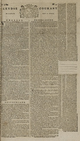 Leydse Courant 1789-04-20