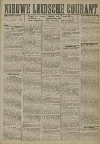 Nieuwe Leidsche Courant 1923-05-25