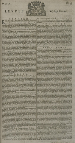 Leydse Courant 1736-05-04