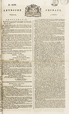 Leydse Courant 1844-04-05
