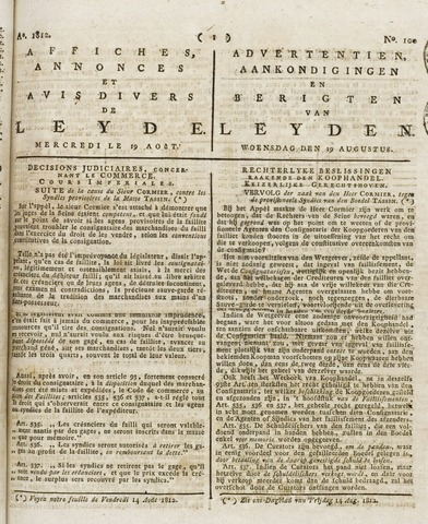 Leydse Courant 1812-08-19