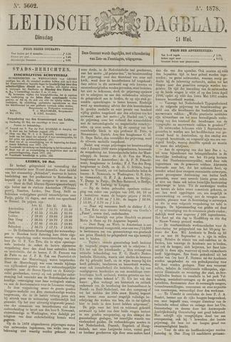 Leidsch Dagblad 1878-05-21