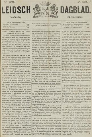 Leidsch Dagblad 1868-12-24