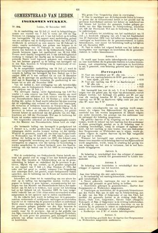 Handelingen van de Raad 1897-11-12