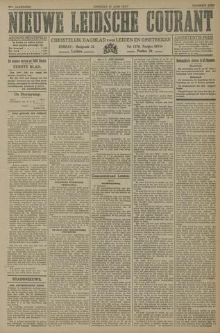 Nieuwe Leidsche Courant 1927-06-21