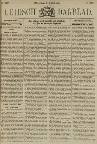 Leidsch Dagblad 1890-01-07