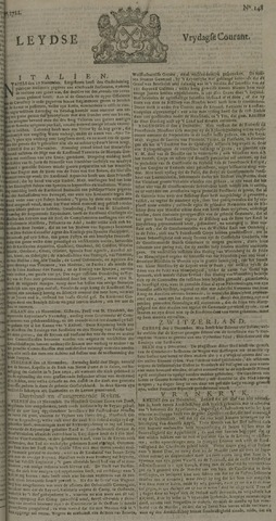 Leydse Courant 1722-12-11