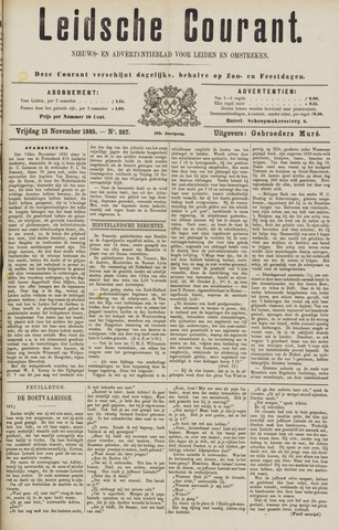 Leydse Courant 1885-11-13