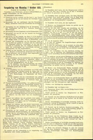 Handelingen van de Raad 1935-10-07