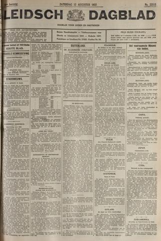 Leidsch Dagblad 1933-08-12