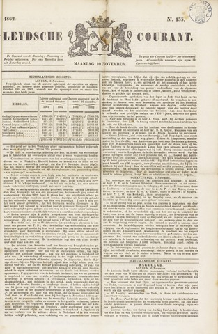 Leydse Courant 1862-11-10