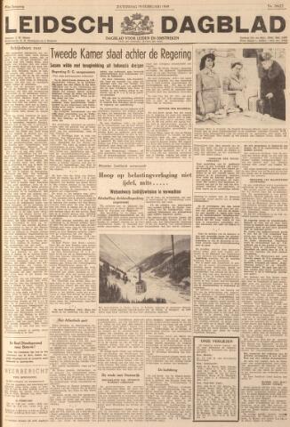 Leidsch Dagblad 1949-02-19