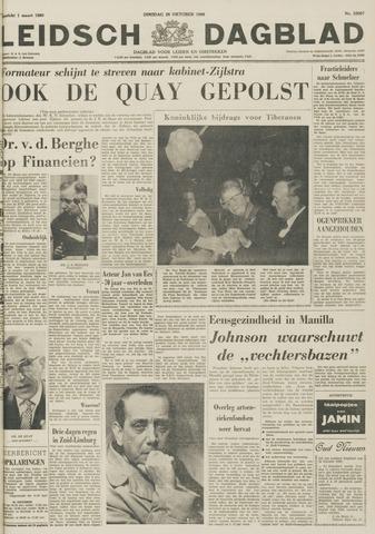 Leidsch Dagblad 1966-10-25