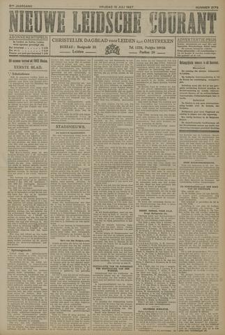 Nieuwe Leidsche Courant 1927-07-15