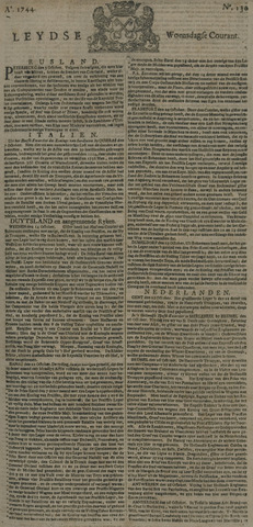 Leydse Courant 1744-10-28