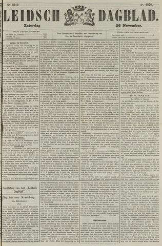 Leidsch Dagblad 1870-11-26