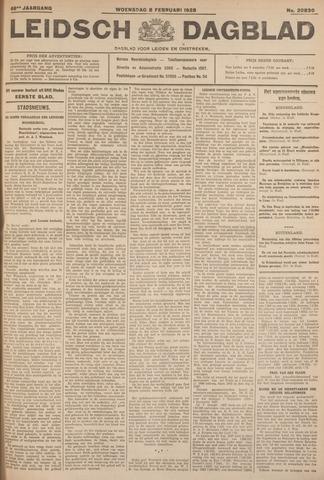 Leidsch Dagblad 1928-02-08