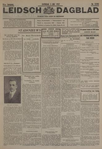 Leidsch Dagblad 1937-07-03