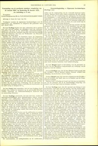 Handelingen van de Raad 1934-01-25