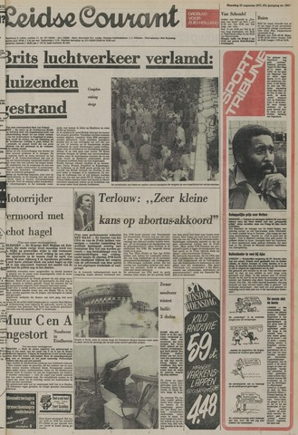 Leidse Courant 1977-08-22