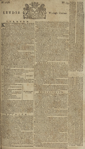 Leydse Courant 1758-11-10