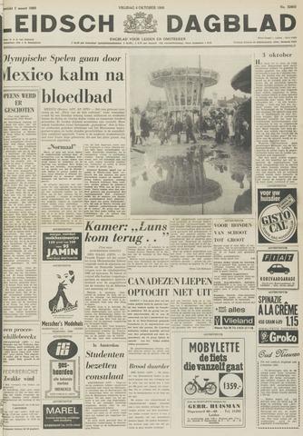 Leidsch Dagblad 1968-10-04