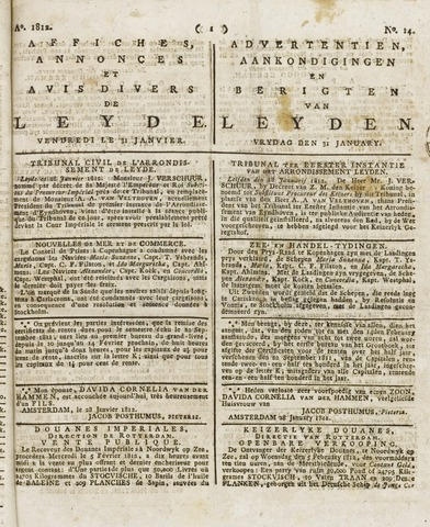Leydse Courant 1812-01-31