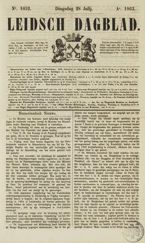 Leidsch Dagblad 1863-07-28