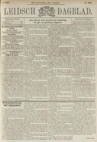 Leidsch Dagblad 1892-04-21