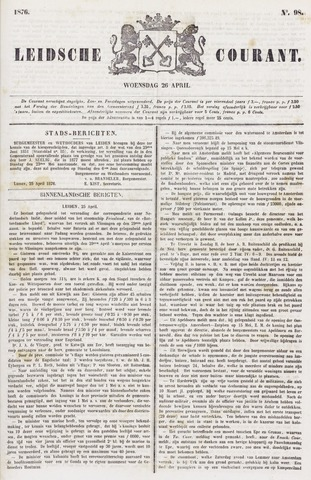 Leydse Courant 1876-04-26